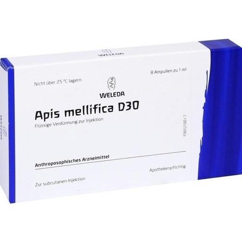 APIS MELLIFICA D30, 8 ST, Weleda AG