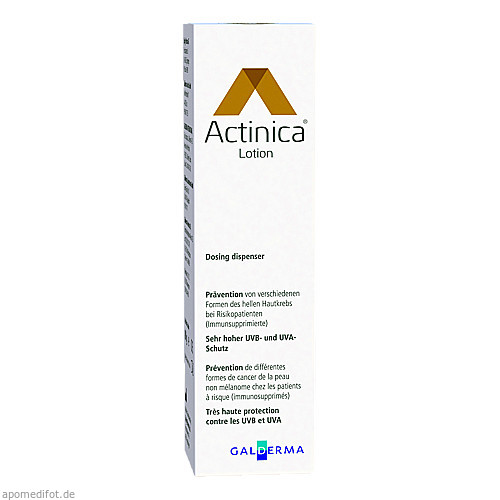 Actinica Lotion Dispenser, 80 G, Galderma Laboratorium GmbH