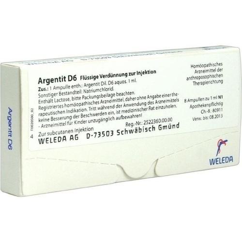 ARGENTIT D 6, 8 ST, Weleda AG