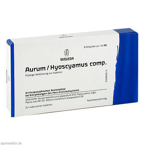 AURUM HYOSCYAMUS COMP, 8X1 ML, Weleda AG