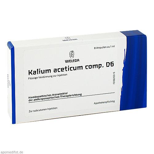 KALIUM ACET COMP D 6, 8X1 ML, Weleda AG
