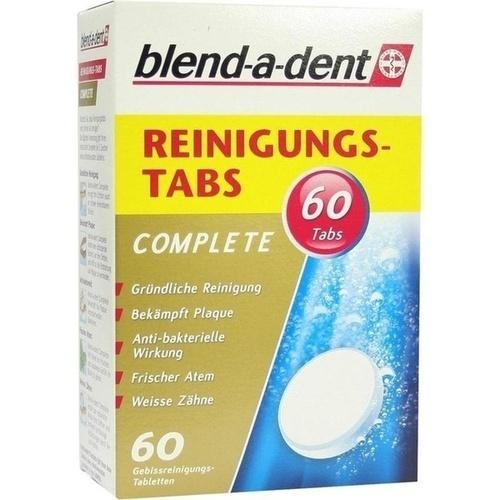blend-a-dent Reinigungs-Tabs Complete, 60 ST, Procter & Gamble GmbH