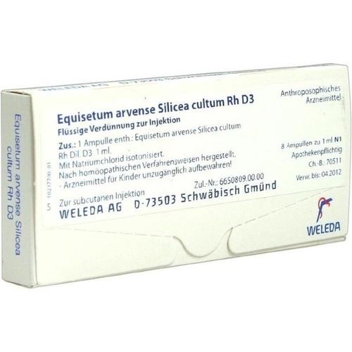 EQUISETUM ARV SILIC CU D 3, 8 ST, Weleda AG