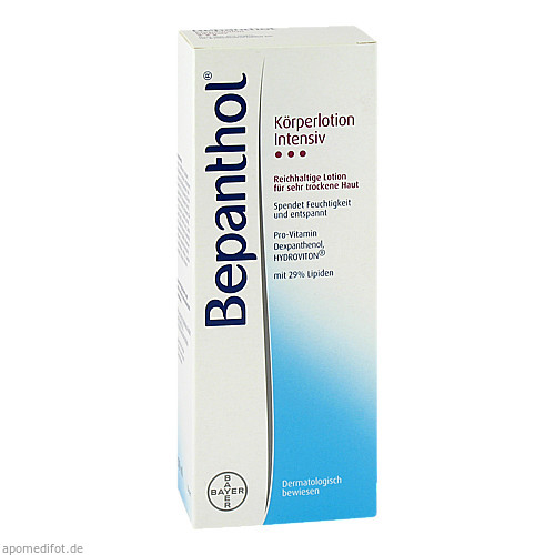 BEPANTHOL INTENSIV KÖRPERLOTION FLASCHE, 200 ML, Bayer Vital GmbH