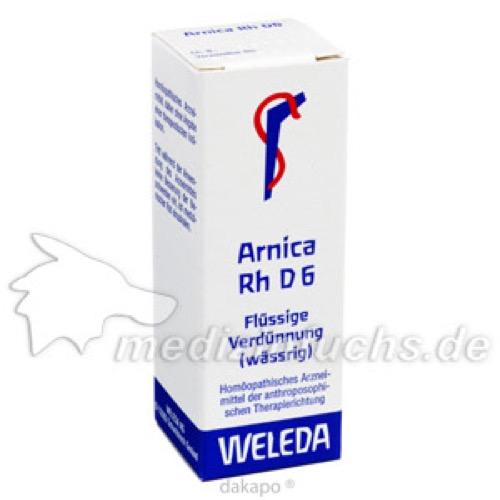 ARNICA RH D 6 Dilution, 20 ML, WELEDA AG