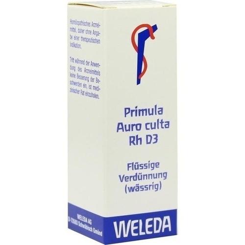 PRIMULA AUR CUL RH D 3, 20 ML, Weleda AG
