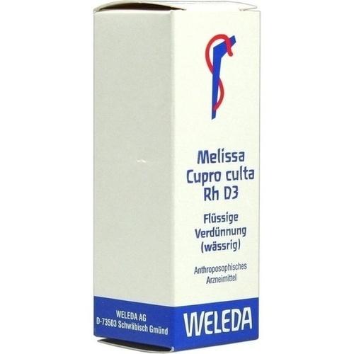 MELISSA CUPR CUL RH D 3, 20 ML, Weleda AG