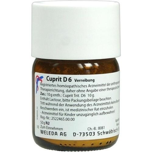 CUPRIT D 6, 50 G, Weleda AG