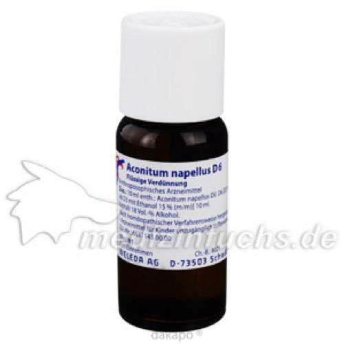 ACONITUM NAPELL D 6, 50 ML, Weleda AG