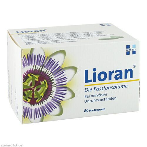 Lioran die Passionsblume, 80 ST, Niehaus Pharma GmbH & Co. KG
