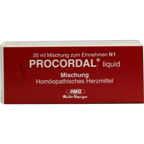 Procordal liquid Mischung, 20 ML, Combustin Pharmaz. Präparate GmbH