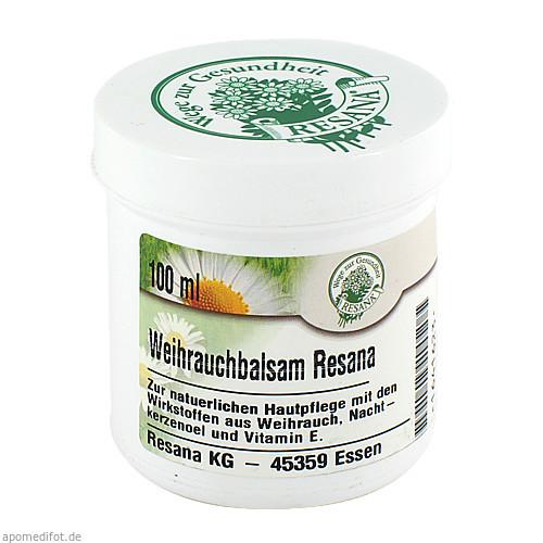 WEIHRAUCHBALSAM RESANA, 100 ML, Resana GmbH