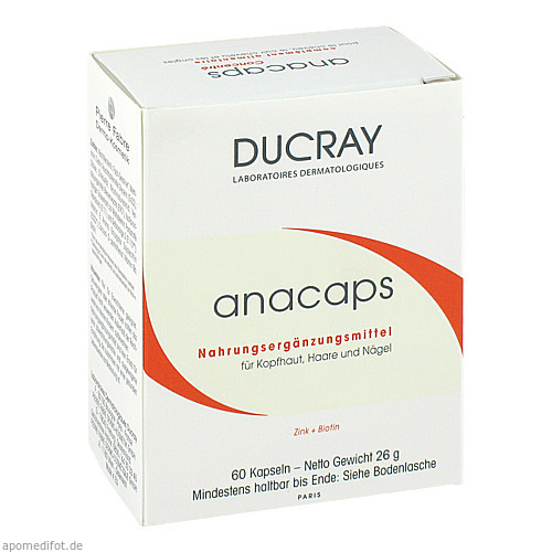 DUCRAY ANACAPS mit Aminosäuren, 60 ST, Pierre Fabre Pharma GmbH