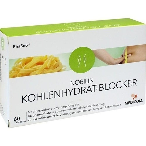 Nobilin Kohlenhydrat-Blocker, 60 ST, Medicom Pharma GmbH