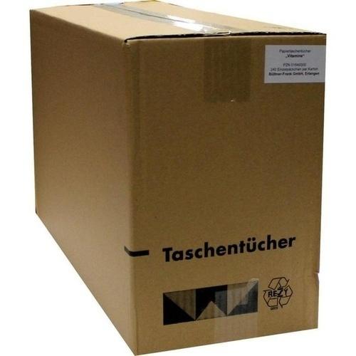 Taschentücher Motiv Vitamine, 1 ST, Büttner-Frank GmbH