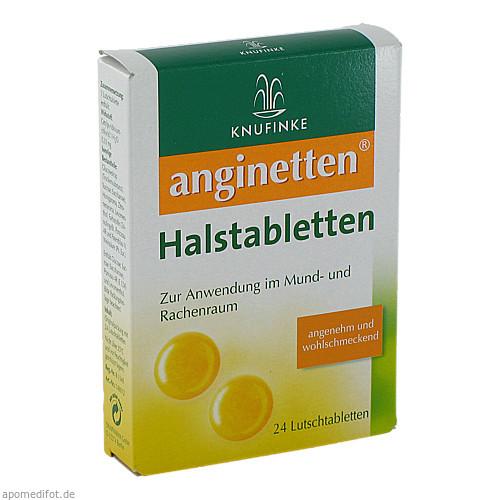 anginetten Halstabletten, 24 ST, MCM Klosterfrau Vertriebsgesellschaft mbH
