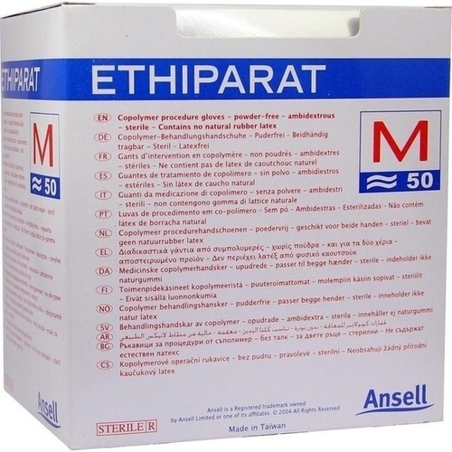 ETHIPARAT UNTERSUCHUNGSHAND STER PAARW MITTE M3350, 100 ST, SERIMED GmbH & Co.KG