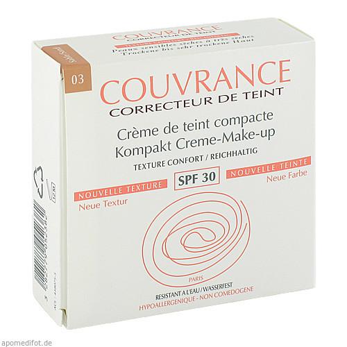 AVENE Couvrance Kompakt Make up reich.sand 03 NEU, 9.5 G, Pierre Fabre Pharma GmbH