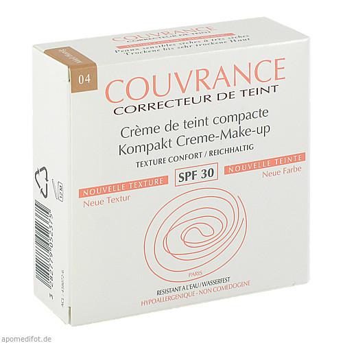 AVENE Couvrance Kompakt Make up reich.honig 04 NEU, 9.5 G, Pierre Fabre Pharma GmbH