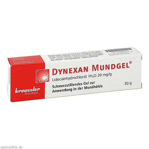 Dynexan Mundgel, 30 G, Chem. Fabrik Kreussler & Co. GmbH