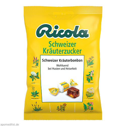 Ricola mZ Kräuter, 75 G, MCM KLOSTERFRAU Vertr. GmbH