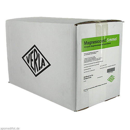 Magnesiocard 5mmol, 10X50 ST, Verla-Pharm Arzneimittel GmbH & Co. KG