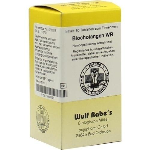 Biocholangen WR, 50 ST, Adjupharm GmbH