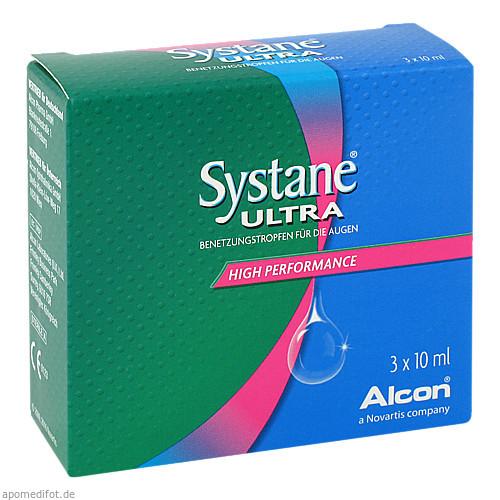 Systane Ultra Benetzungstropfen, 3X10 ML, Alcon Pharma GmbH