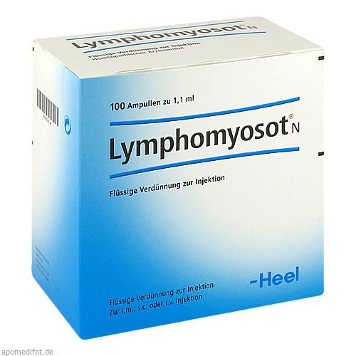 Lymphomyosot N, 100 ST, Biologische Heilmittel Heel GmbH