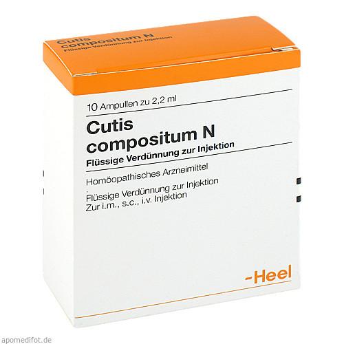Cutis compositum N, 10 ST, Biologische Heilmittel Heel GmbH