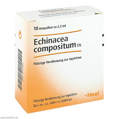Echinacea compositum SN, 10 ST, Biologische Heilmittel Heel GmbH
