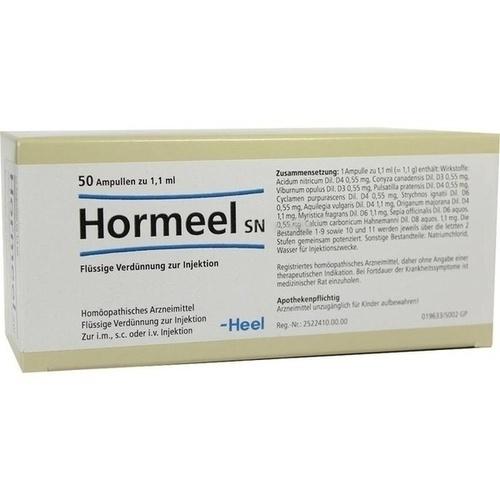 Hormeel SN, 50 ST, Biologische Heilmittel Heel GmbH