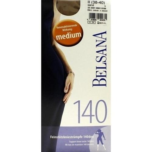 BELSANA 140den AD Gr.2 sand, 2 ST, BELSANA Medizinische Erzeugnisse