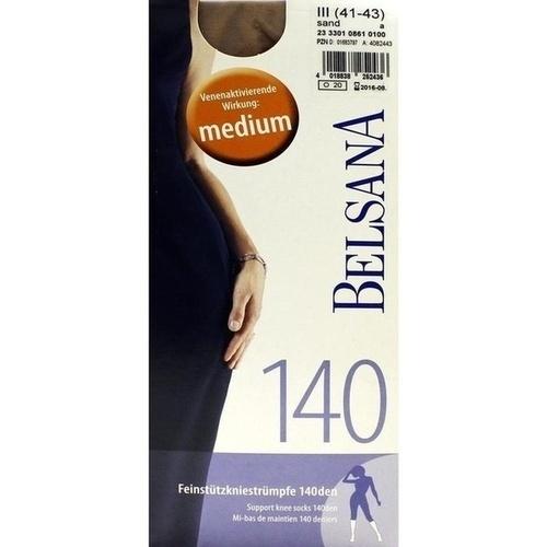 Belsana 140den AD Gr.3 sand, 2 ST, Belsana Medizinische Erzeugnisse