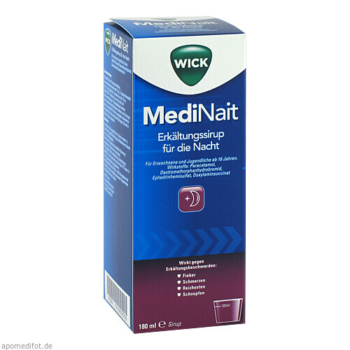 WICK MEDINAIT 147006, 180 ML, Procter & Gamble GmbH