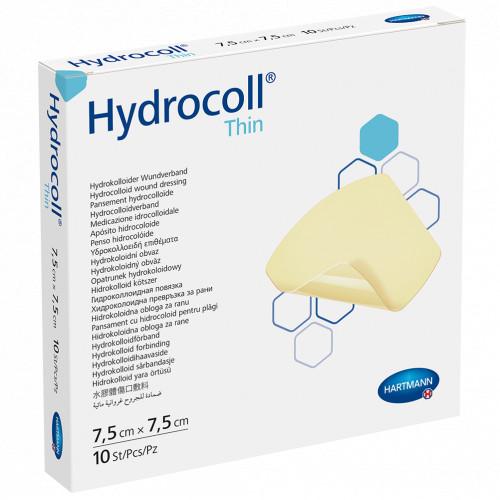 Hydrocoll thin 7.5x7.5cm, 10 ST, Paul Hartmann AG