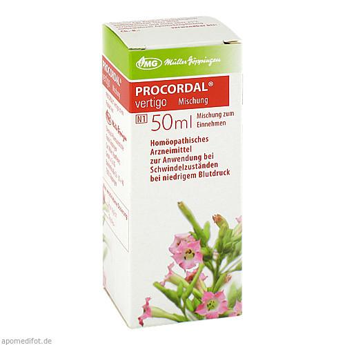 Procordal vertigo Mischung, 50 ML, Combustin Pharmaz. Präparate GmbH