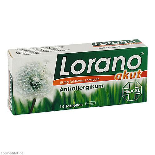 Lorano akut, 14 ST, HEXAL AG