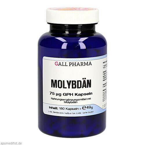 MOLYBDAEN 75ug GPH Kapseln, 180 ST, Hecht-Pharma GmbH