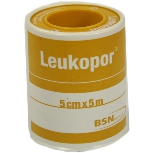 LEUKOPOR 5X5CM, 1 ST, Bsn Medical GmbH