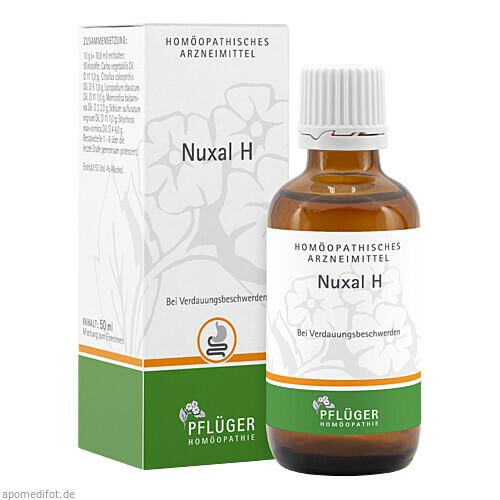 Nuxal H Tropfen, 50 ML, Homöopathisches Laboratorium Alexander Pflüger GmbH & Co. KG