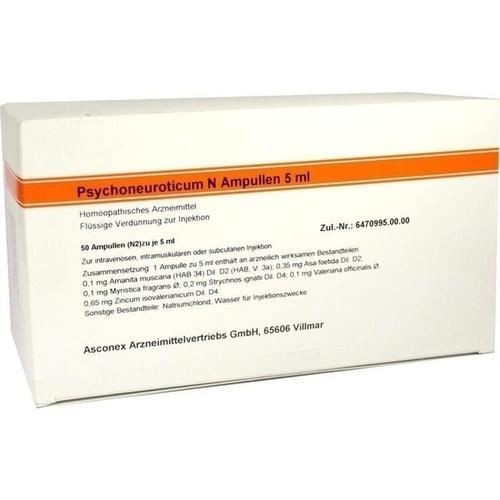 Psychoneuroticum N Ampullen 5ml, 50X5 ML, Medphano Arzneimittel GmbH