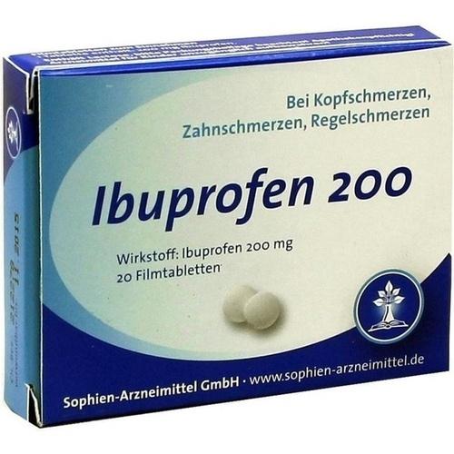 Ibuprofen Sophien 200, 20 ST, Sophien-Arzneimittel GmbH