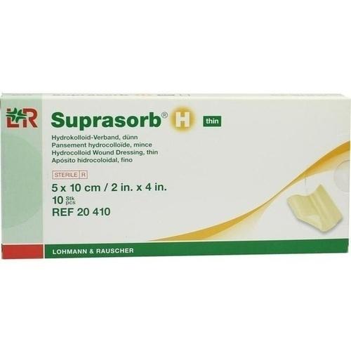 Suprasorb H Hydrokoll.Verb. 5x10cm dünn, 10 ST, Bios Medical Services GmbH