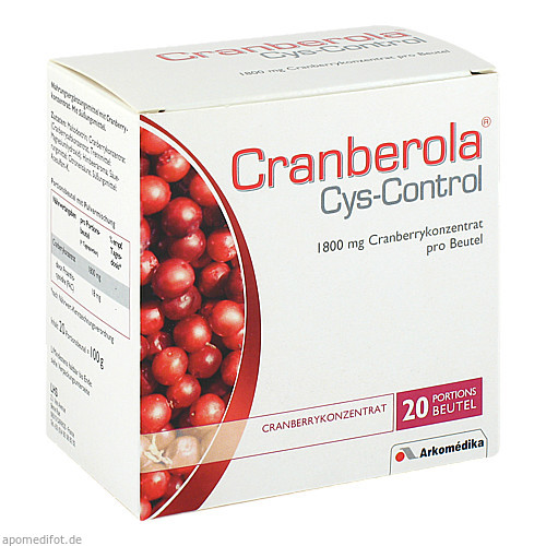 Cranberola Cys-Control, 20X5 G, Weber & Weber GmbH & Co. KG