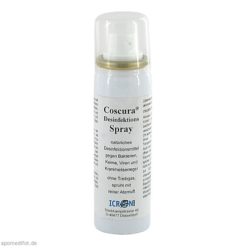 Desinfektionsspray Coscura, 50 ML, Axisis GmbH