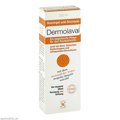 Dermolaval für den Hautpatienten Duschgel+Shampoo, 200 ML, Harras-Pharma-Curarina GmbH