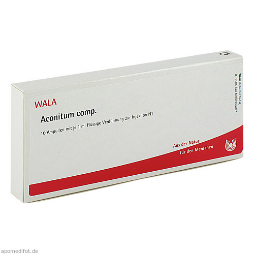 ACONITUM COMP, 10X1 ML, Wala Heilmittel GmbH