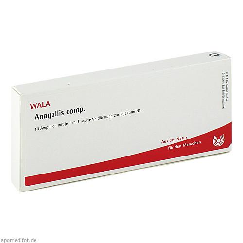 ANAGALLIS COMP, 10X1 ML, Wala Heilmittel GmbH
