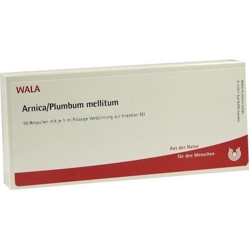 ARNICA/PLUMBUM mellitum, 10X1 ML, Wala Heilmittel GmbH